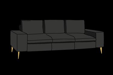 icona dei divani di oliver b.