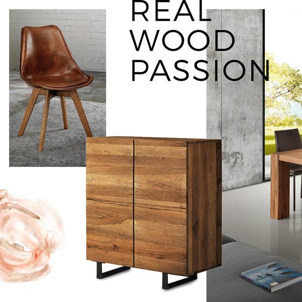 sezione del mood real wood passion